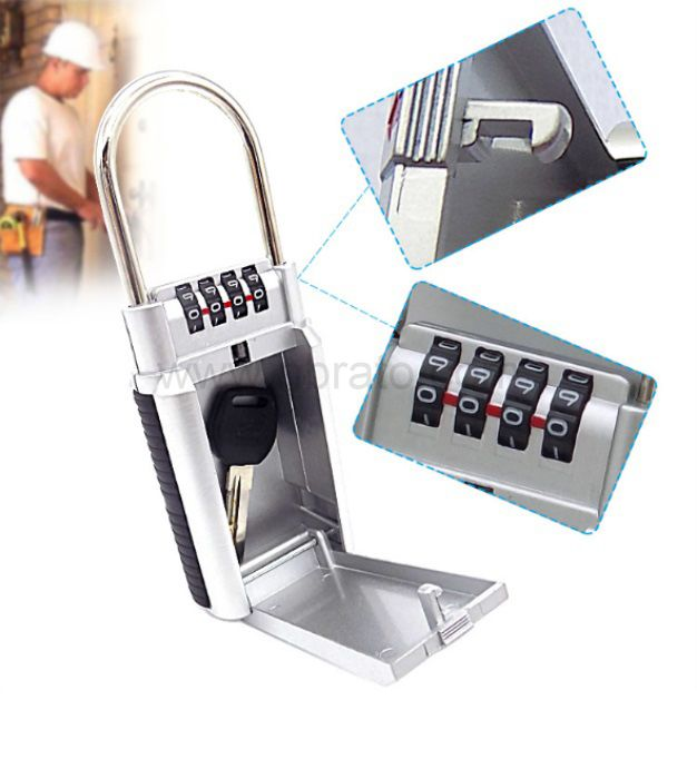 Key-Guard combination key storage lock box key box for home gate