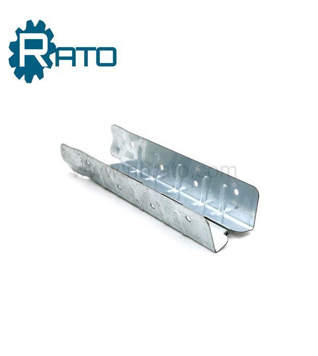 Galvanized Steel Pallet Collar Solid Wooden Case Hinge
