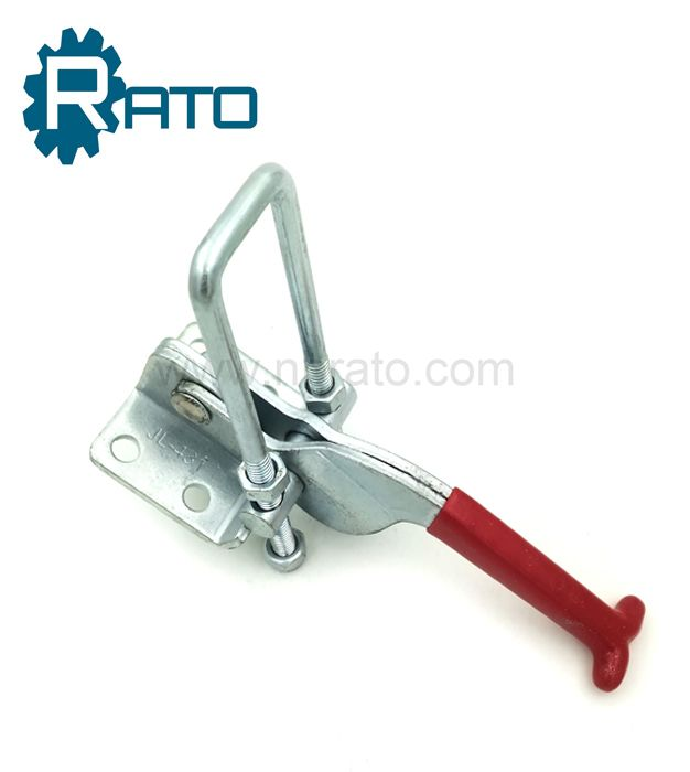 Stainless steel strong and heavy duty adjustable lock catch toggle clamp