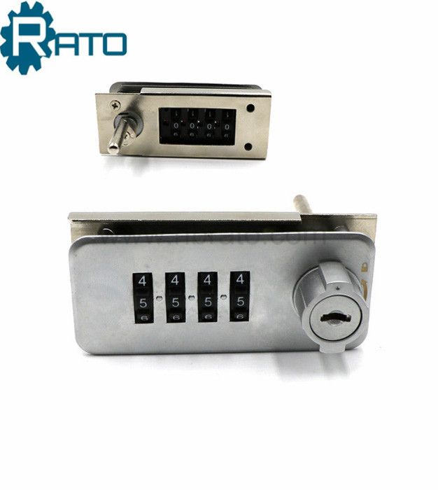 Zinc Alloy 4 Digital Cabinet Combination Lock For Wooden Cabinets And Steel Cabinets