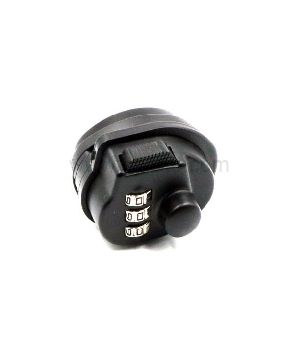 Black Tumbler Metal 3-Dial Combination Safe Pin Safety Pick Gun Lock