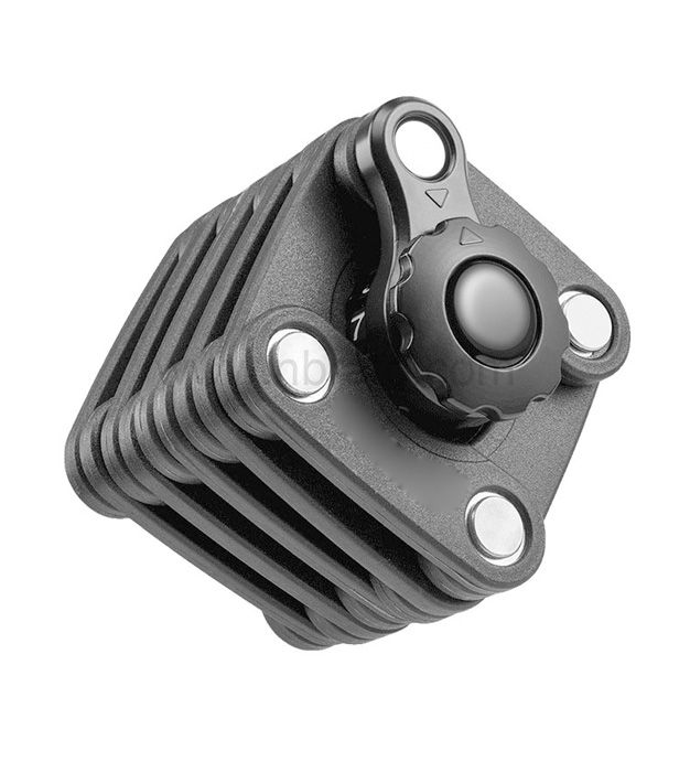 Folding Cube Bike Thickened Core Extended Chain easy-taking Anti-Violence Anti-Theft Bicycle Lock