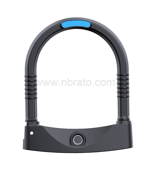 Heavy duty anti cutting anti cutting wear resistant fingerprint IP65 waterproof Guard against theft u lock