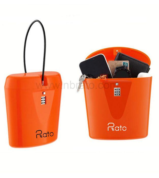 Travel Outdoor Phone Wallet Protect Box Beach Weather resistance Safe Lock Box Beach Storage Digital Box