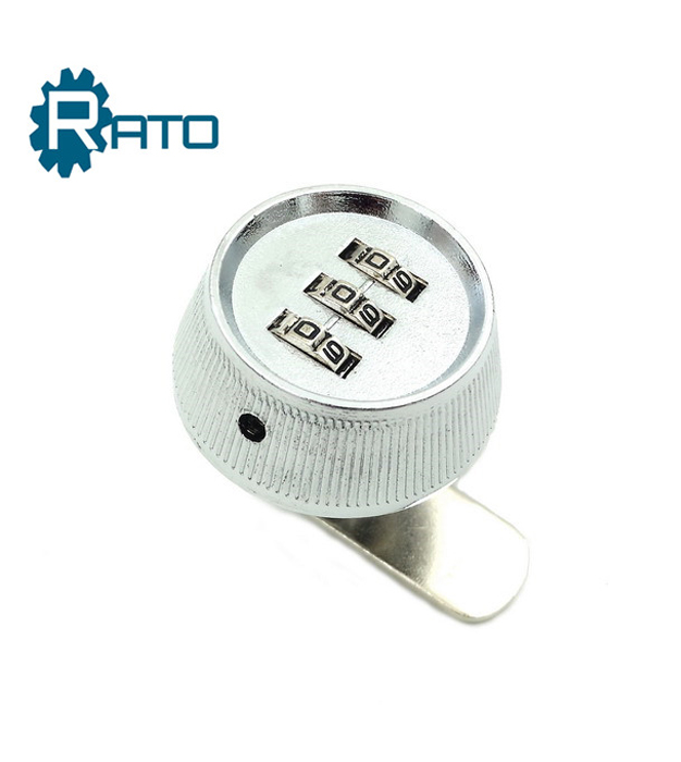 Zinc Alloy Round Shape Dial Combination Cam Lock