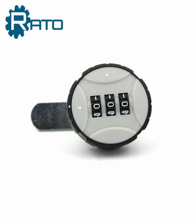 3 Digits Password Combination Plastic Cam Lock