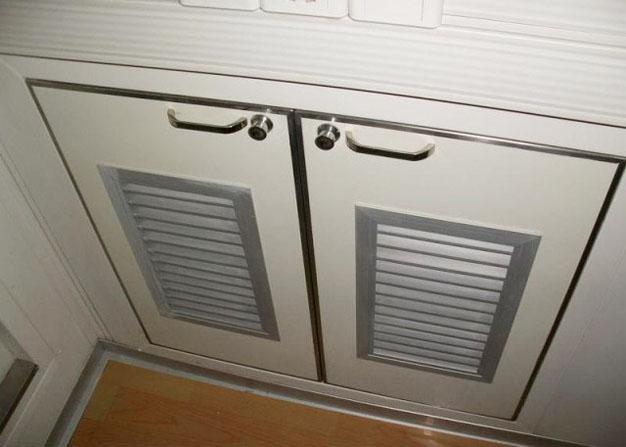 File Cabinet Safety Press Rim Wooden Drawer Lock