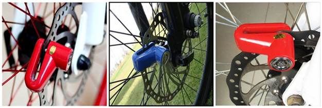 Portable High Quality Mini Bicycle Wheel Security Disc Lock