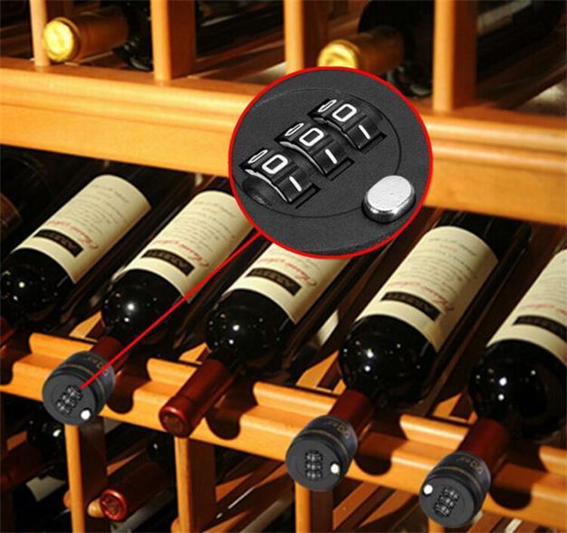 ABS Plastic Bottle Combination Password Code Wine Lock