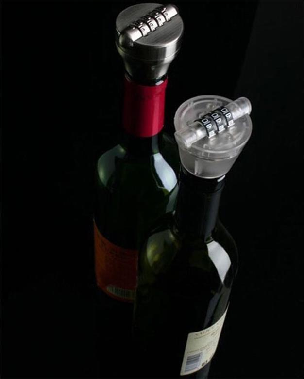 Zinc Alloy Combination Wine Bottle Digital Code Lock