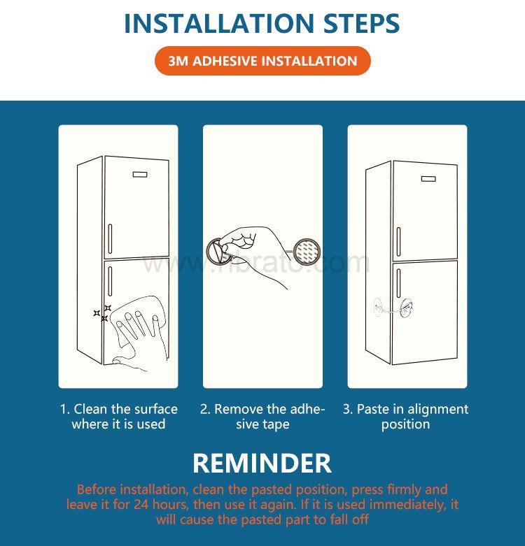 Baby safety shifting stopper window door lock Refrigerator Door Lock