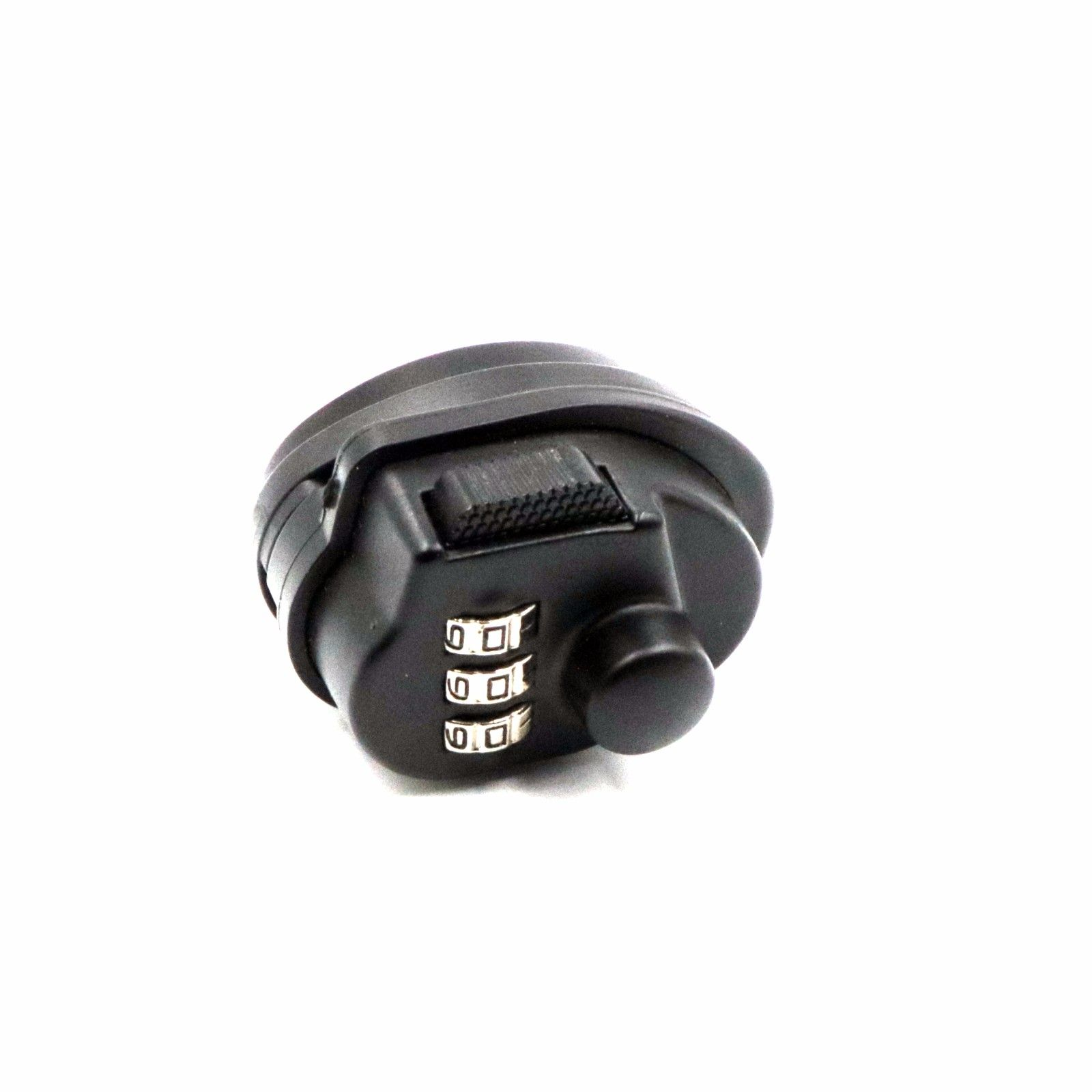 Black Tumbler Metal 3-Dial Combination Safe Pin Safety Pick Gun Lock