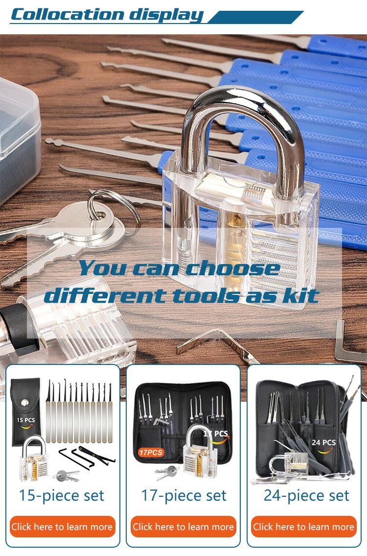 Training lock Professional Cutaway Inside view of Practice Keyed locks Skill Pick for Locksmith